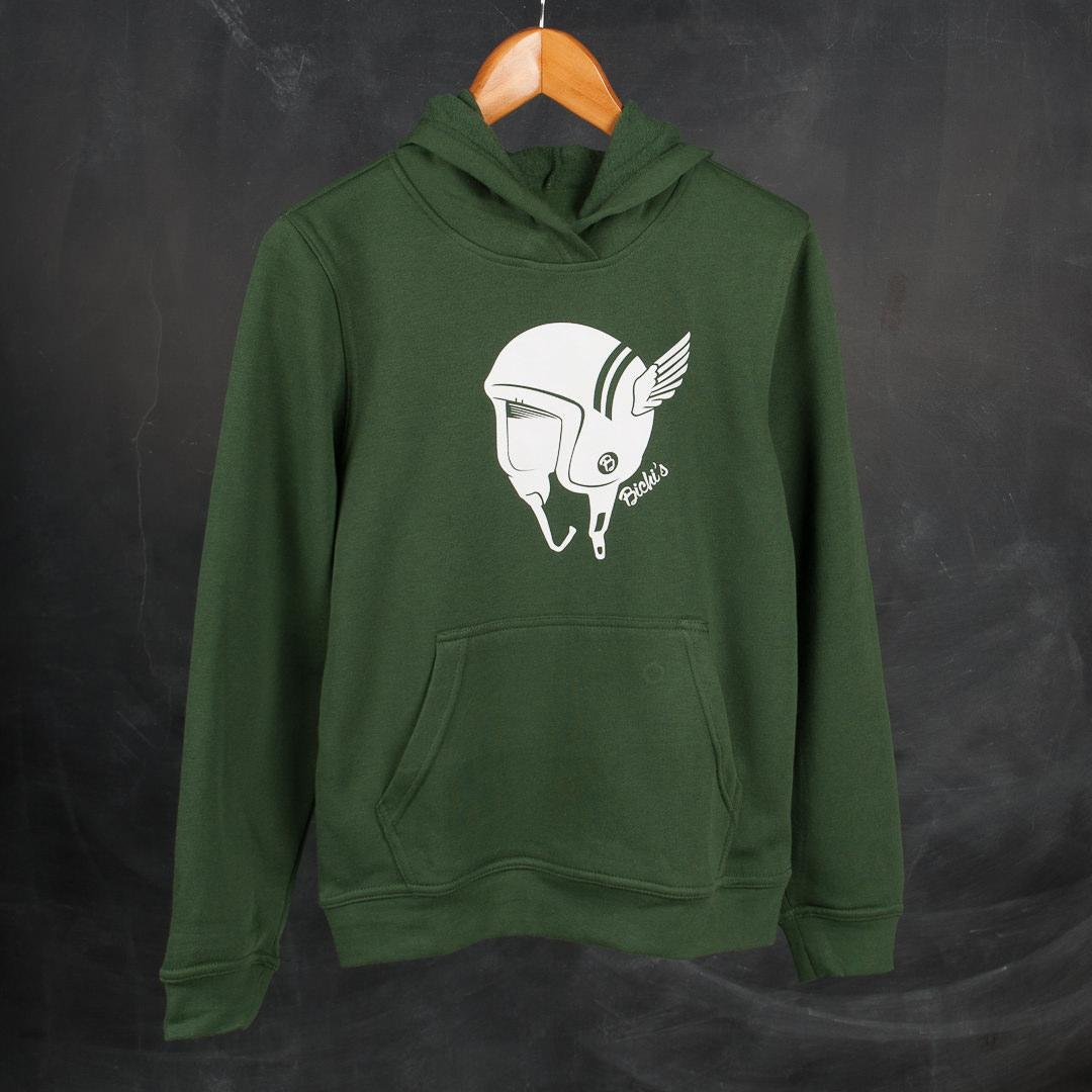 Bichis Clothes Feel Collection Casco Alas Green