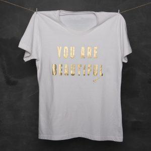 Free Syle - Camiseta You are beutiful