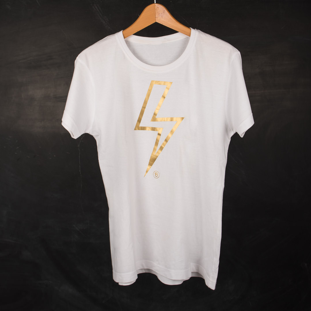 T-shirt Golden Gleam